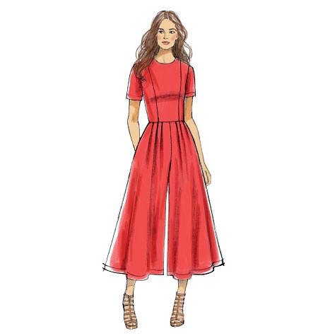 V9075 Misses Dress & Jumpsuit |  Very Easy