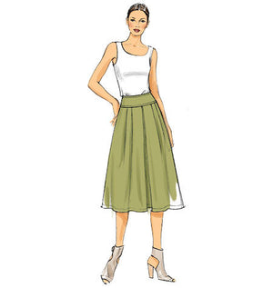 Vogue Pattern 9090  Misses' Skirt   Very Easy from Jaycotts Sewing Supplies