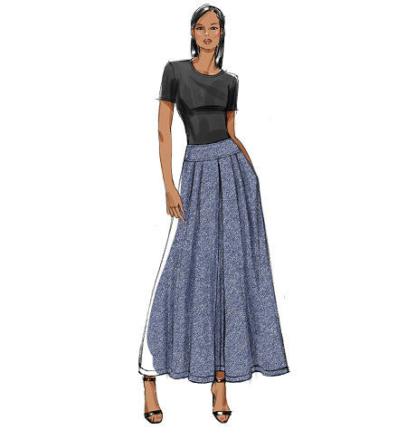 V9090 Misses' Skirt | Very Easy