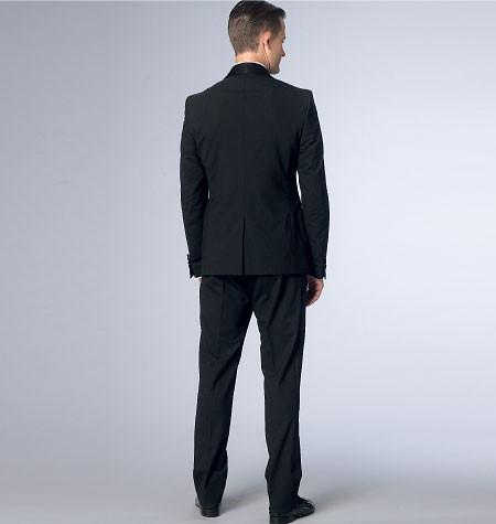 V9097  Men's Jacket and Trousers