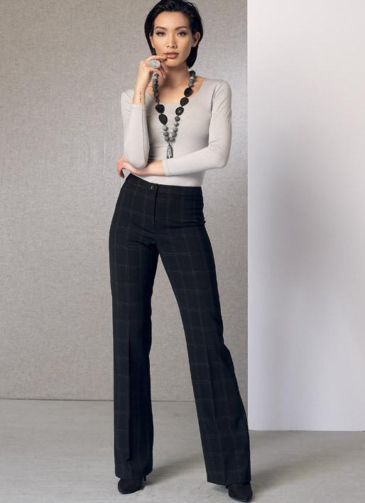 Vogue pattern V9181 Custom-Fit Bootcut Pants