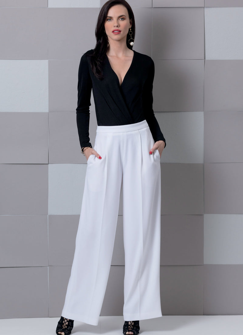 Vogue Pattern 9302 Misses' Trousers pattern