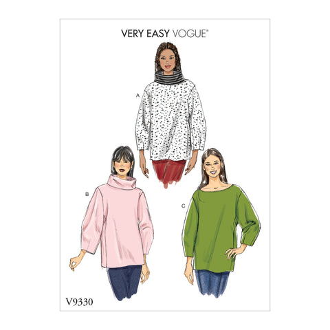 V9330 Misses' Top | Very Easy Vogue