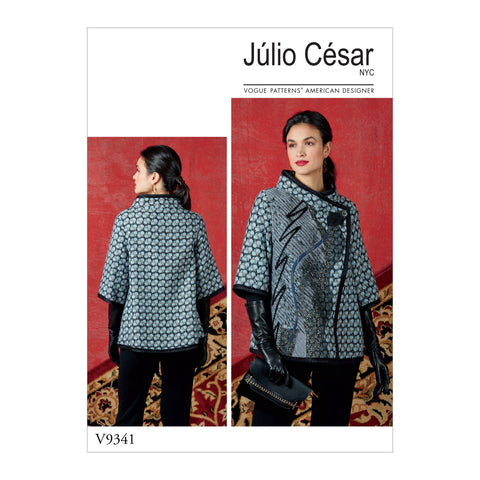 V9341 Misses' Jacket Pattern | Julio Cesar