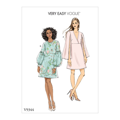 V9344 Misses' Dress | Vogue Pattern