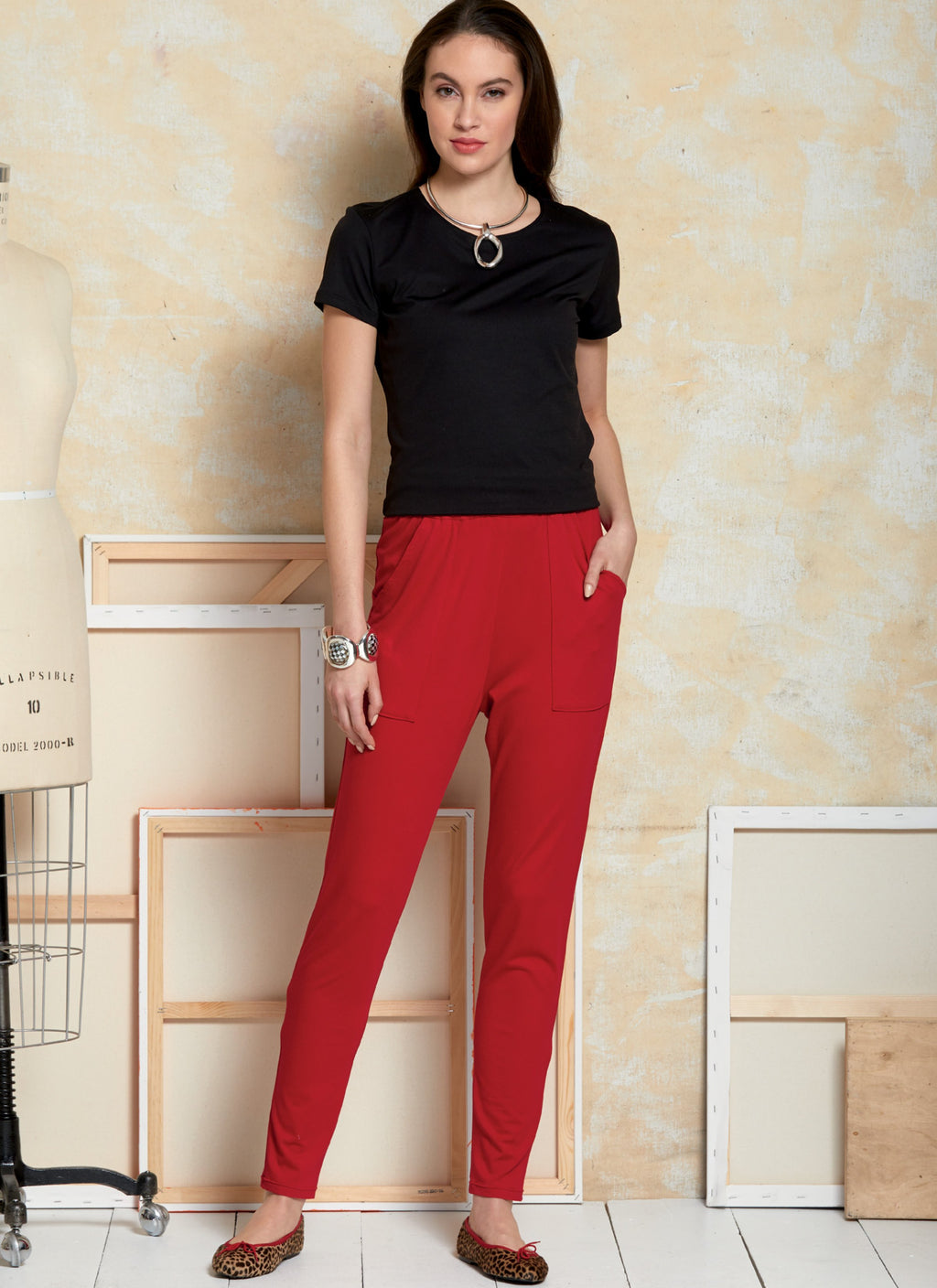 Vogue Pattern 9374 Misses' Pants sewing pattern