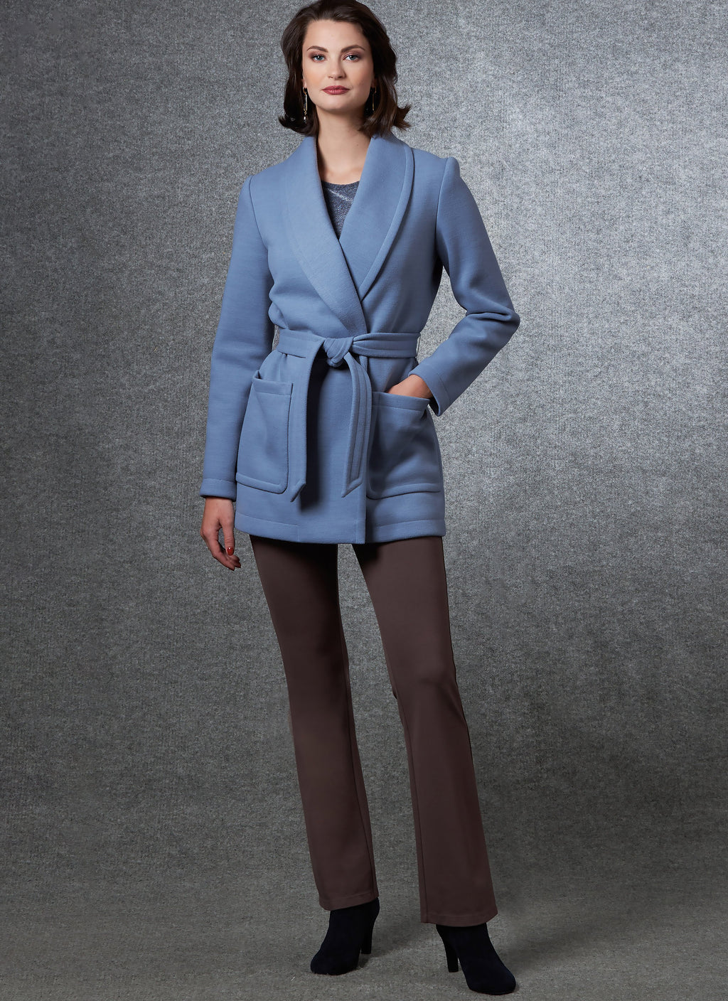 Vogue Sewing Pattern 1663 Jacket, Top and Pants | Kathryn Brenne