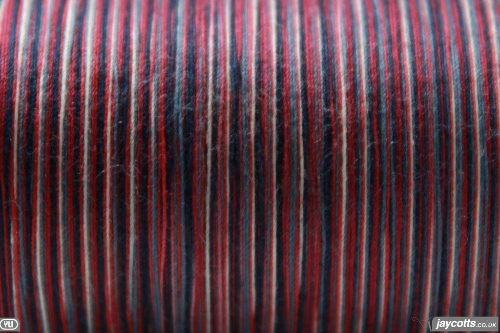 YLI Quilting Thread Variegated #1V Red/White/Blue