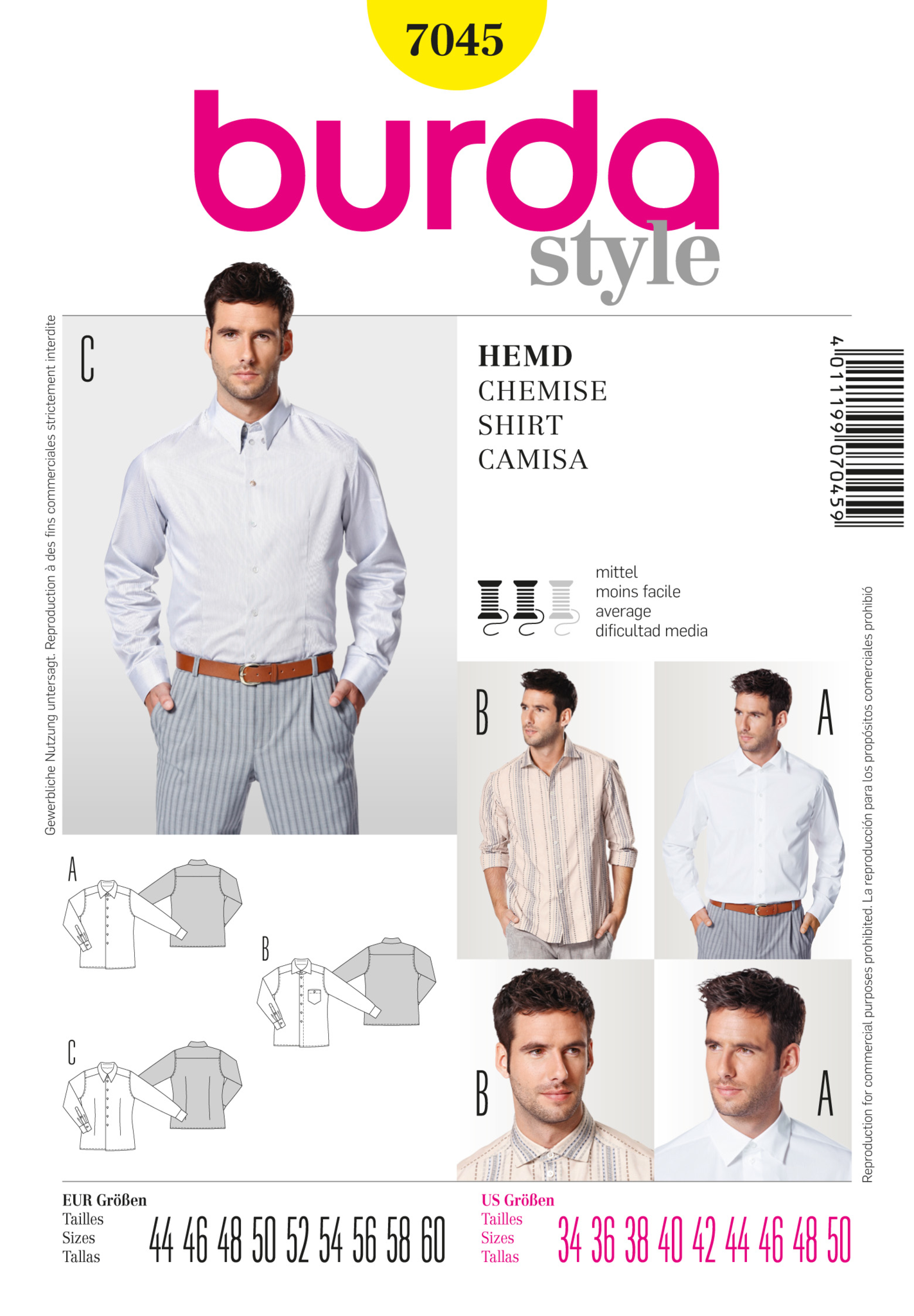 BD7045 Mens' Shirt