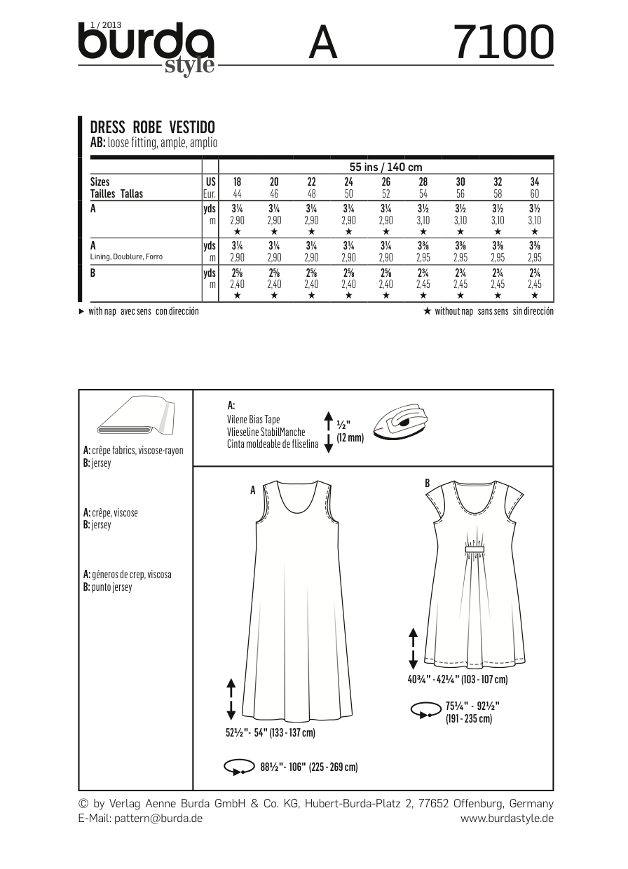 BD7100 Dress | Very Easy