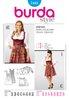 BD7443 Dirndl Dress