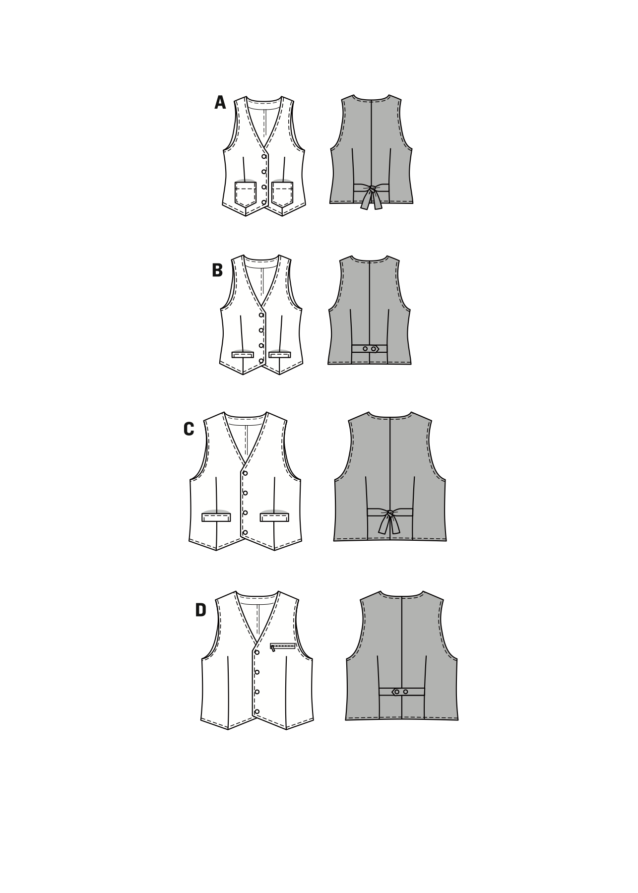 BD7810 Unisex Vest | Very Easy