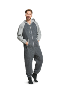 BD6397 Unisex Hooded Jumpsuit Pattern