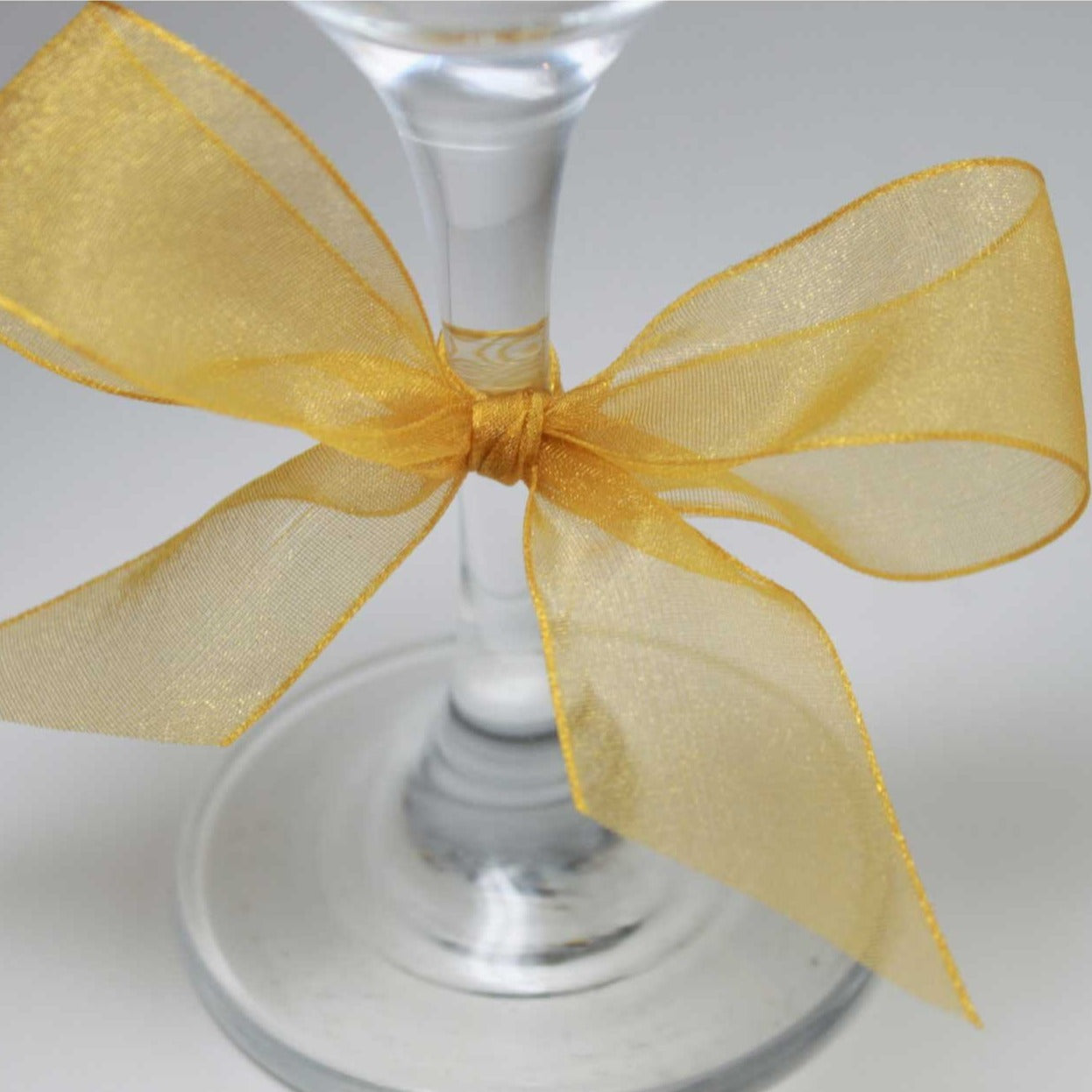 Berisfords Super Sheer Ribbon 25m - HONEY GOLD