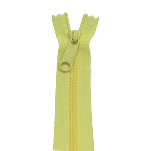 YKK Zip for bags | colour 802 | Lemon from Jaycotts Sewing Supplies