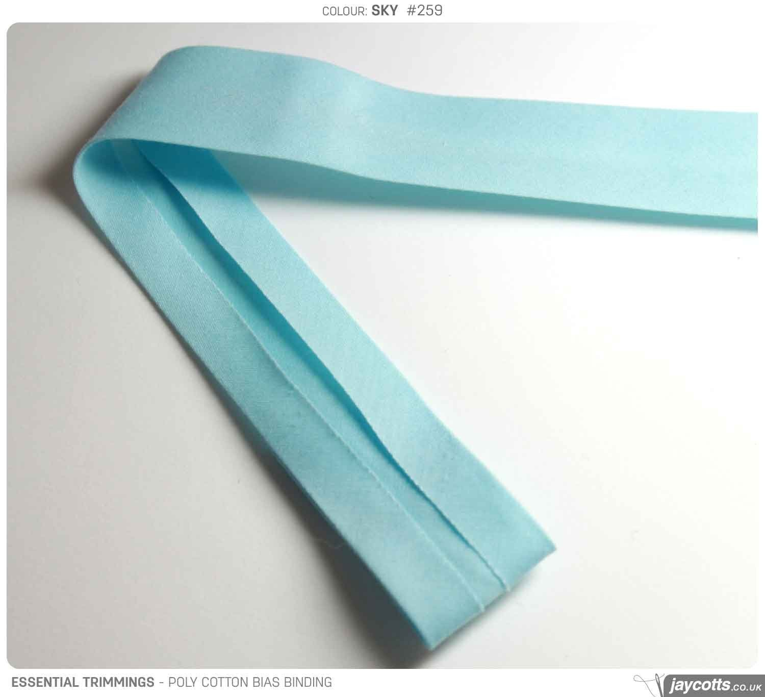 Bias Binding - Poly Cotton (20 metres)