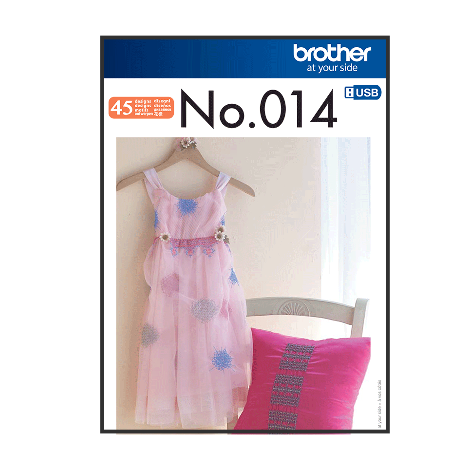 Brother Embroidery USB 014 | Faux Smocking