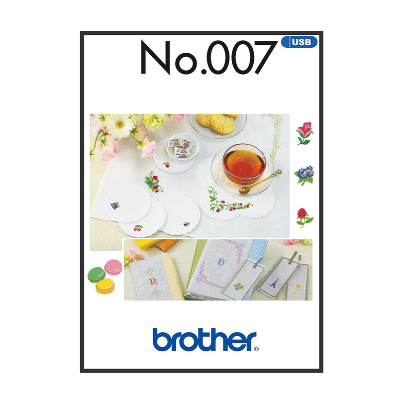 Brother Embroidery USB 007 | Petite from Jaycotts Sewing Supplies