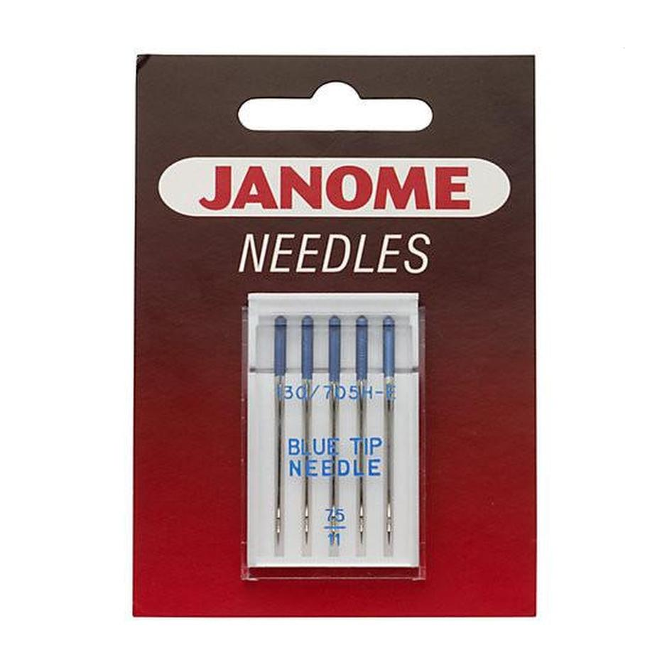 needles Janome recommend for embroidery and stretch sewing