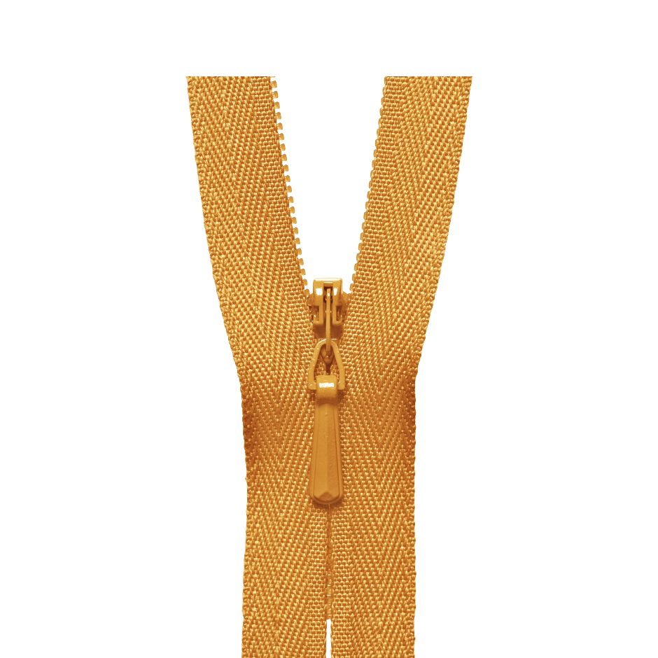 YKK Concealed Zip GOLD from Jaycotts Sewing Supplies