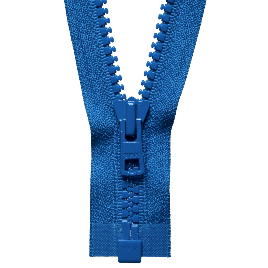 Chunky Zip Open End Zip | Saxe Blue from Jaycotts Sewing Supplies
