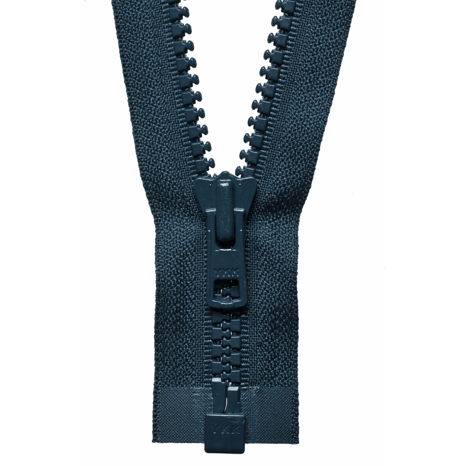 YKK Chunky Zip Open End Zip | Navy from Jaycotts Sewing Supplies