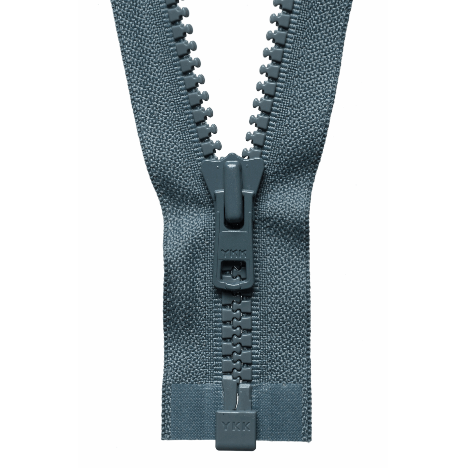 Chunky Zip Open End Zip | Dark Grey from Jaycotts Sewing Supplies