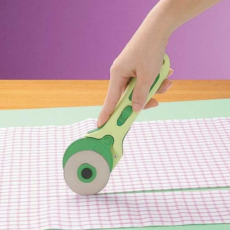 Clover Rotary Cutters | Soft Cushion Handle from Jaycotts Sewing Supplies