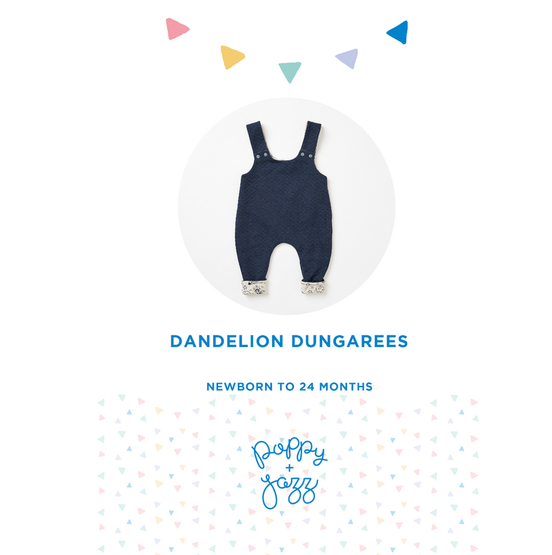 Sew Over It Poppy + Jazz | Dandelion Dungarees Pattern