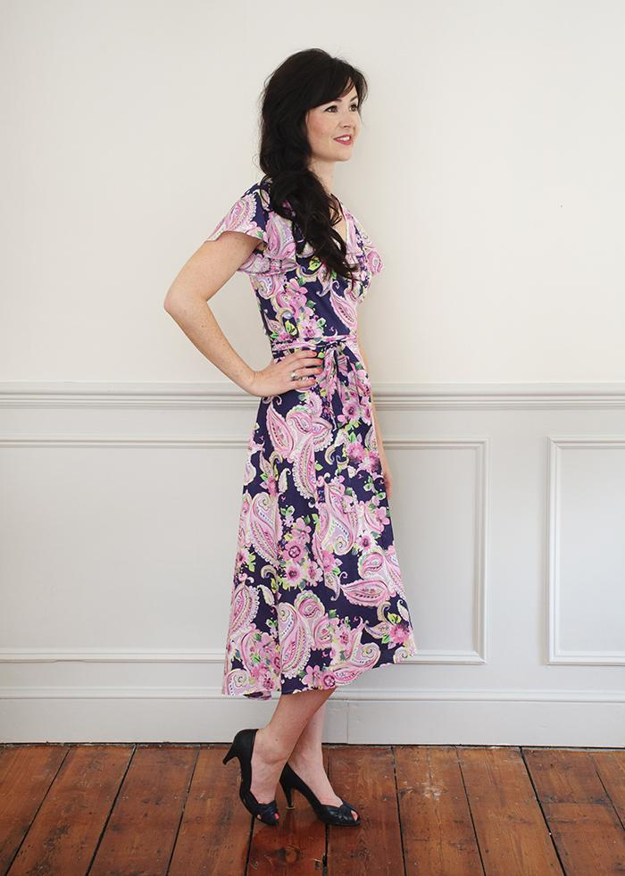 Sew Over It - Eve wrap Dress Pattern — jaycotts.co.uk - Sewing Supplies