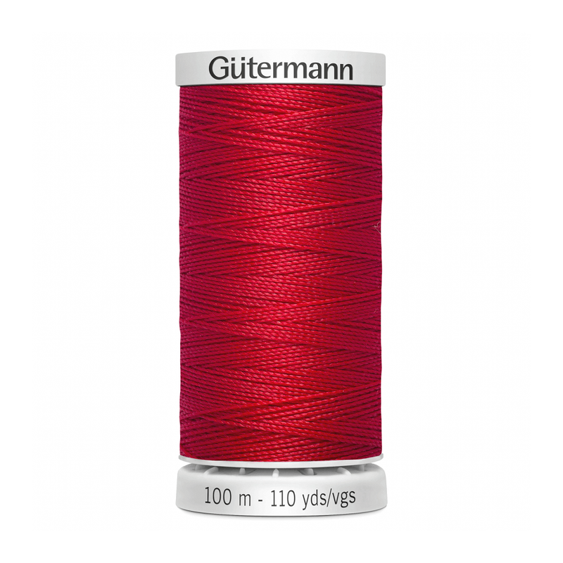 Gutermann Extra Strong Thread 100m | Scarlet Berry