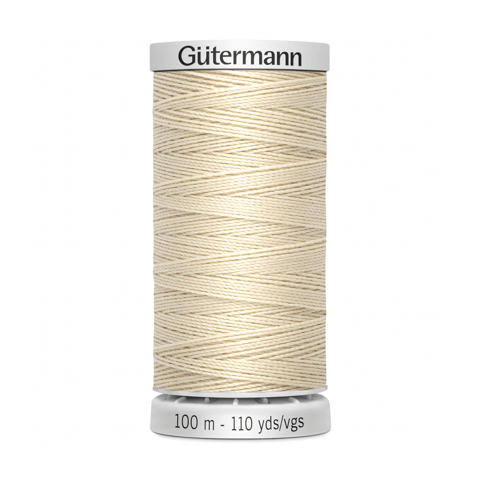 Gutermann Extra Strong Thread 100m | Ecru