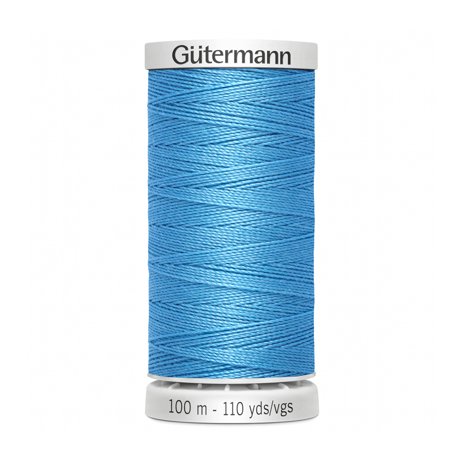 Gutermann Extra Strong Thread 100m | Turquoise from Jaycotts Sewing Supplies