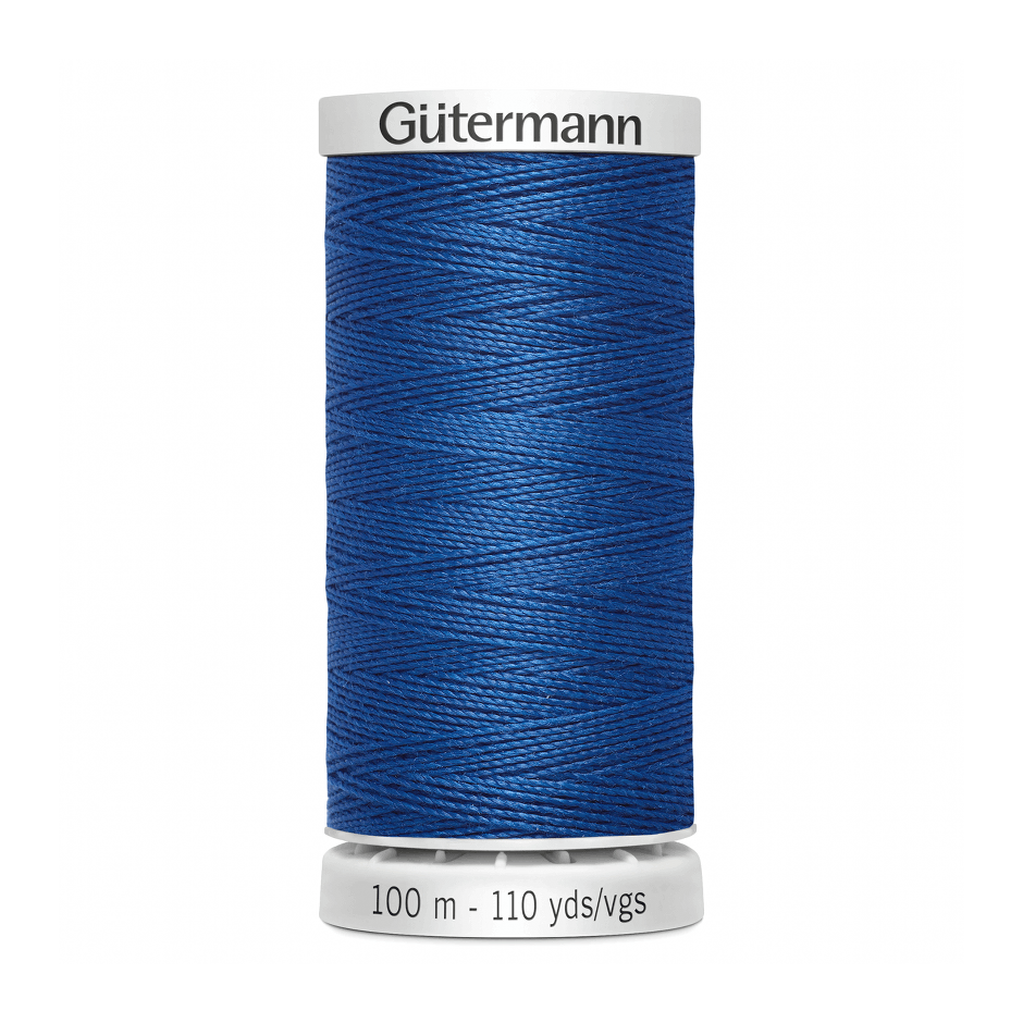 Gutermann Extra Strong Thread 100m | Royal Blue from Jaycotts Sewing Supplies