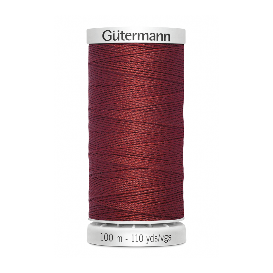 Gutermann Extra Strong Thread 100m | Rust from Jaycotts Sewing Supplies