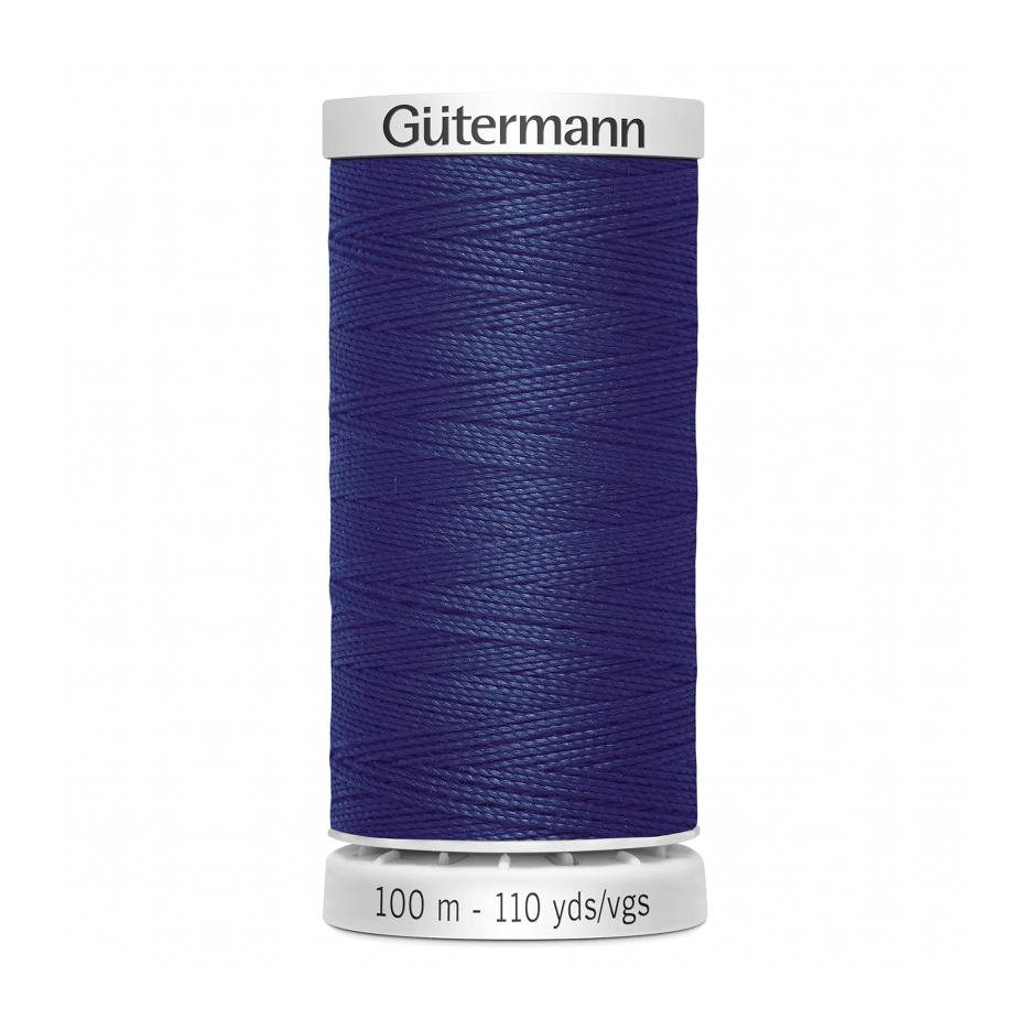 Gutermann Extra Strong Thread 100m | Dark Navy from Jaycotts Sewing Supplies