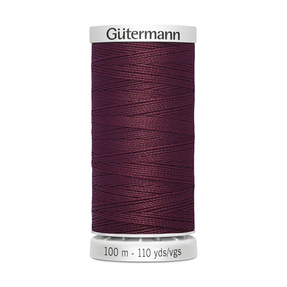 Gutermann Extra Strong Thread 100m | Burgundy from Jaycotts Sewing Supplies