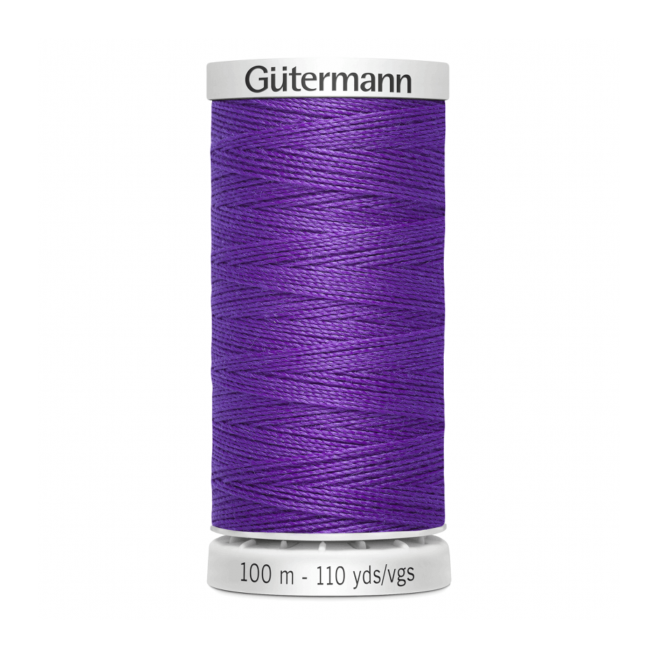 Gutermann Extra Strong Thread 100m | Purple from Jaycotts Sewing Supplies