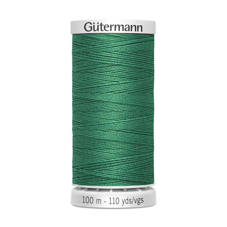 Gutermann Extra Strong Thread 100m | Emerald from Jaycotts Sewing Supplies