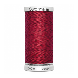 Gutermann Extra Strong Thread 100m | Cherry Red