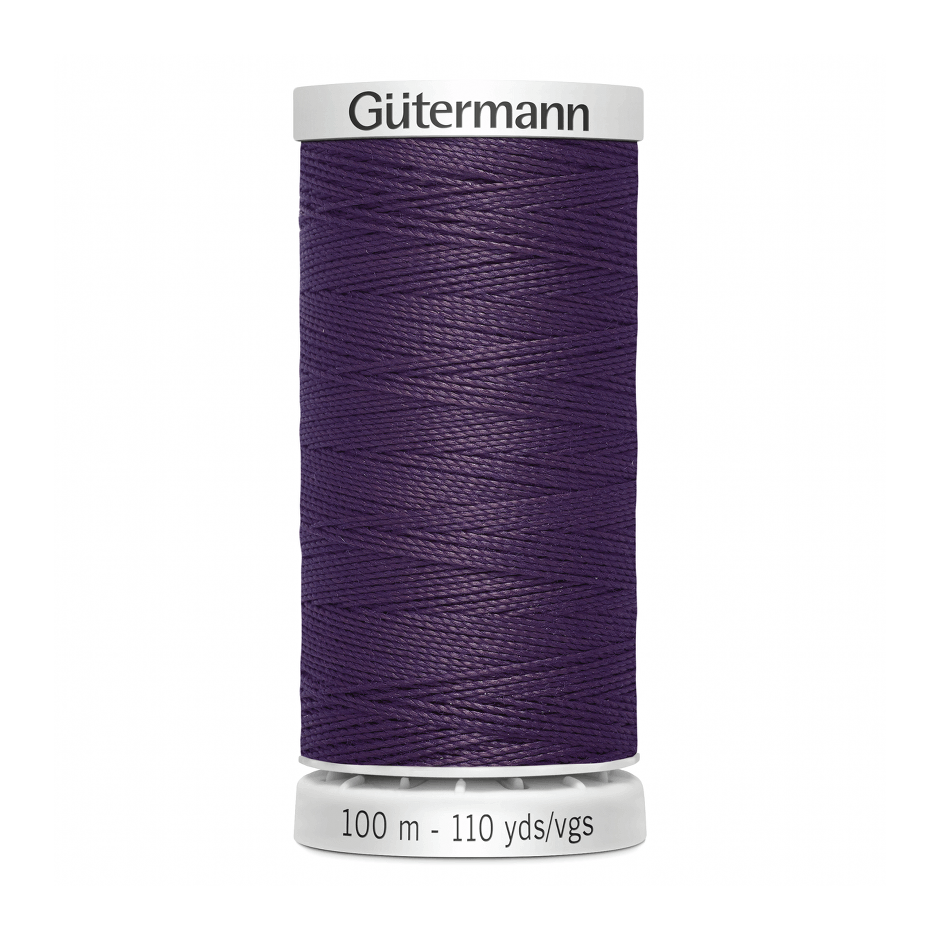 Gutermann Extra Strong Thread 100m | Aubergine from Jaycotts Sewing Supplies