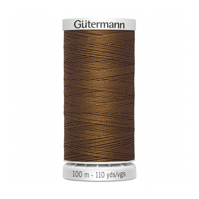 Gutermann Extra Strong Thread 100m | Burnt Umber from Jaycotts Sewing Supplies