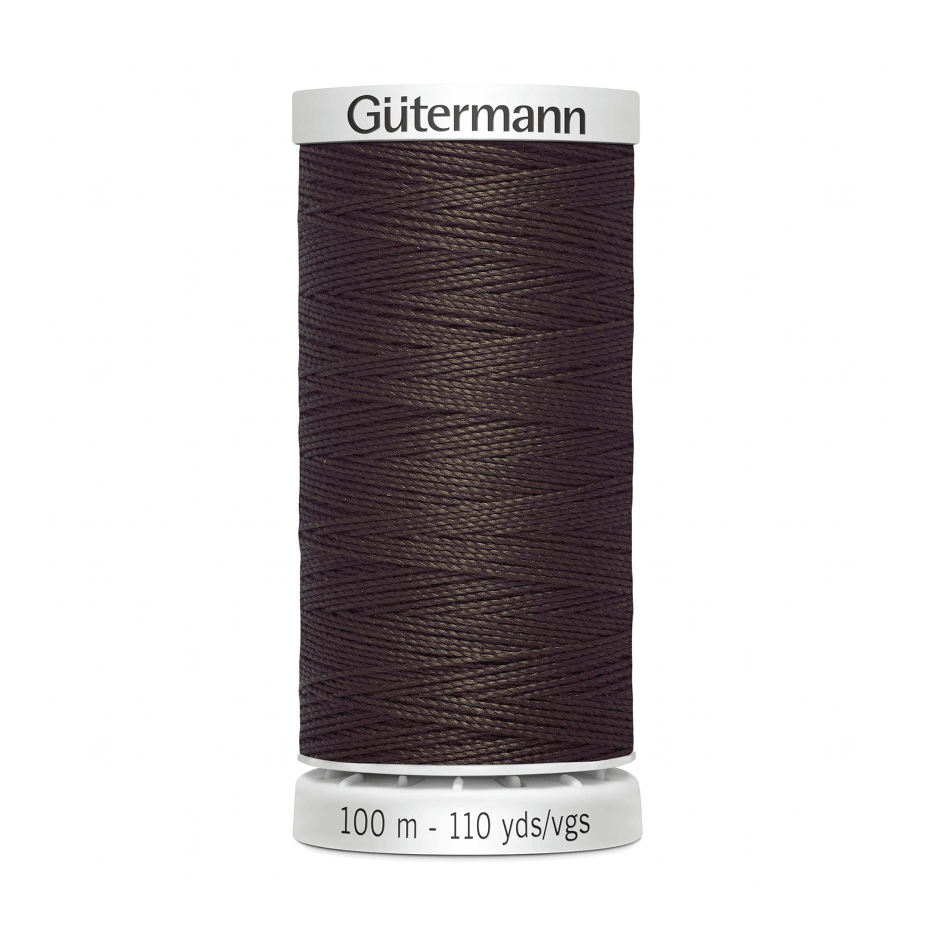 Gutermann Extra Strong Thread 100m | Brown from Jaycotts Sewing Supplies