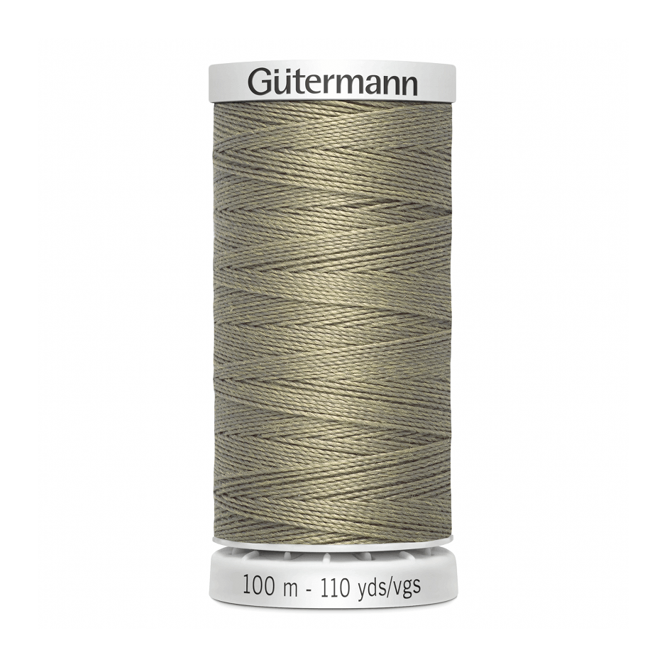 Gutermann Extra Strong Thread 100m | Beige from Jaycotts Sewing Supplies