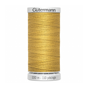 Gutermann Extra Strong Thread 100m | Gold