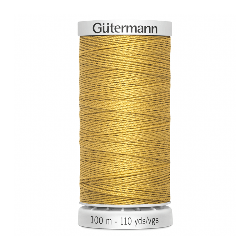 Gutermann Extra Strong Thread 100m | Gold from Jaycotts Sewing Supplies