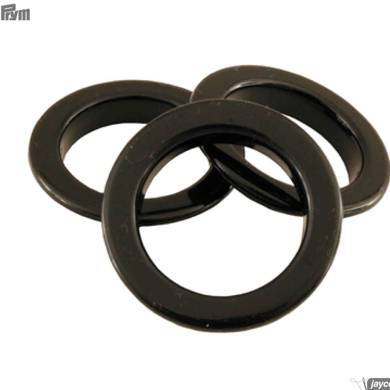 Eyelets - Black 4mm size
