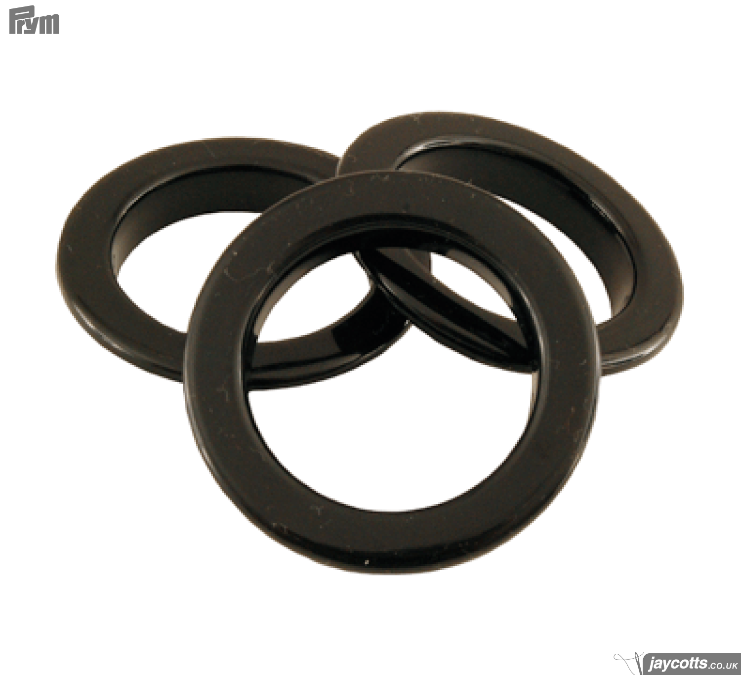 Eyelets - Black 5mm value pack