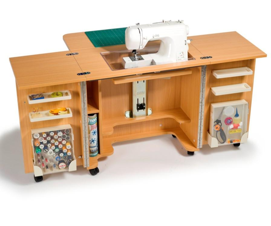 Horn Gemini Sewing Machine Cabinet