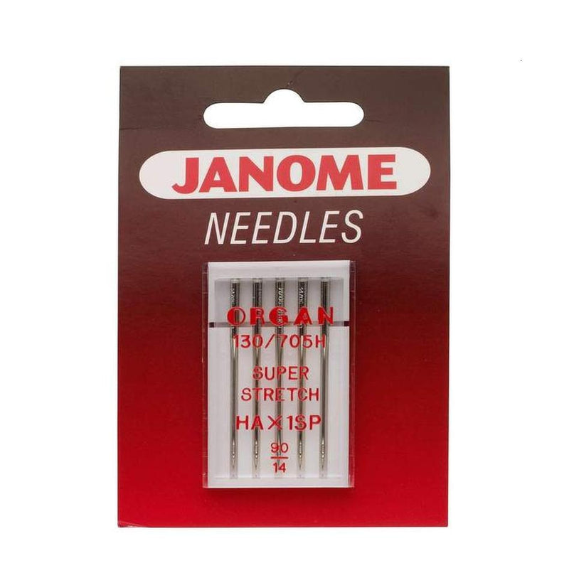 Janome HA1xSP Needles | Pack of 5 from Jaycotts Sewing Supplies